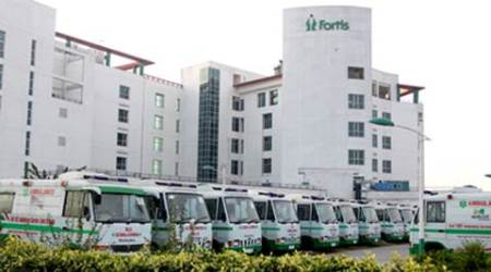 Fortis Healthcare sinks on Rs 500 crore fine on subsidiary
