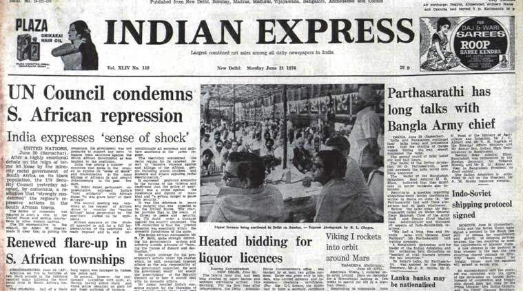south africa, united nations, bangla army chief, Beirut Evacuation, sanjay gandhi, indian express, india emergency, indian emergency press gag,