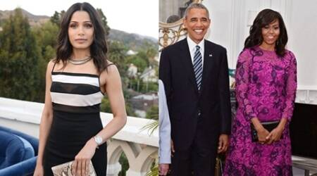 Freida Pinto joins hands with Michelle Obama for Let Girls Learn