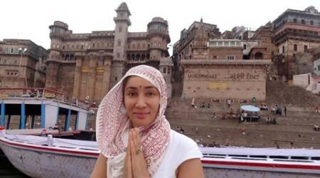 Ex-model Gaia Mother Sofia went to Varanasi on a spiritual trip, see pics
