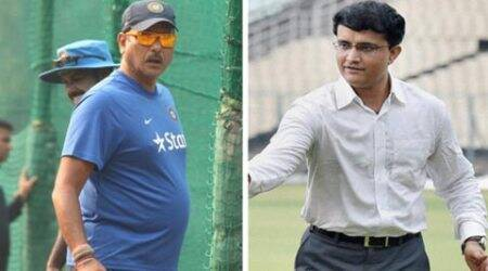 Ganguly wasn't there when I was interviewed: Shastri