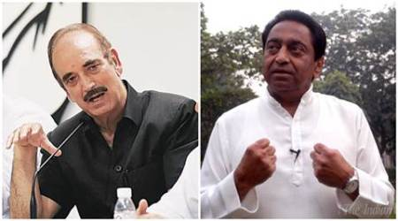 uttar pradesh elections 2017, punjab elections 2017, Ghulam Nabi Azad, Kamal Nath, congress, congress reshuffle, all india congress committee, uttar pradesh, punjab, up elections, punjab elections, punjab congress, amarinder singh, SAD, arvind kejriwal, india news, indian express news