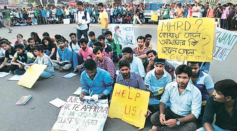 west bengal, bengal college, bengal college affiliation, malda college affiliation protest,  Ghani Khan Choudhury Institute of Engineering & Technology, GKCIET Malda, GKCIET Malda hunger strike, bengal news,