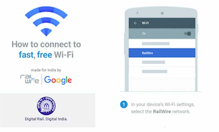 Googles Free WiFi At Railway Stations Has Over Million Indian - Free wifi near me map