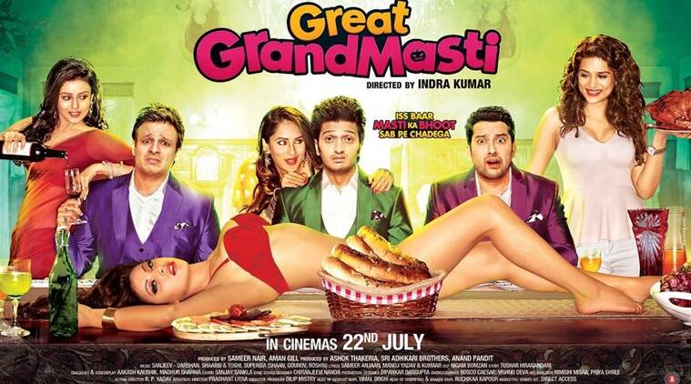 Great grand Masti, Great Grand Masti review, Sex comedy, Great Grand Masti image