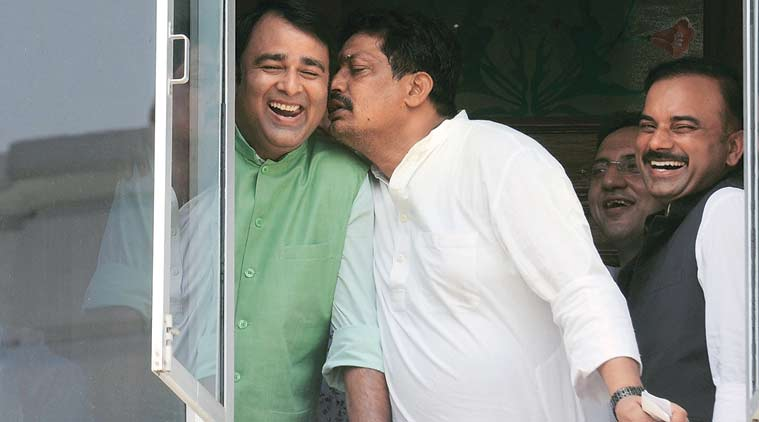 uttar pradesh, mlc polls, up mlc polls, uttar praesh rajya sabha, rajya sabha, rajya sabha polls, sangeet som, bjp, samajwadi party, india news