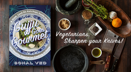 New vegetarian digital cookbook for healthy recipes on the go