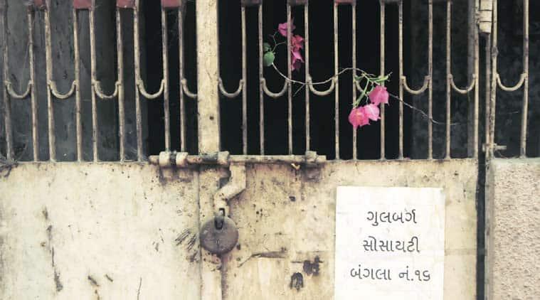 At Gulberg Society on Thursday. (Express Photo: Javed Raja)