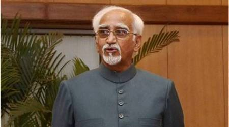Disrupt less, debate more: Hamid Ansari to new MPs
