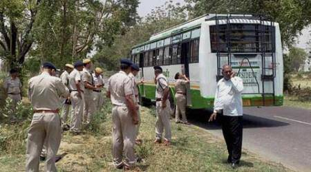 Haryana: Another blast in private bus, 2 injured