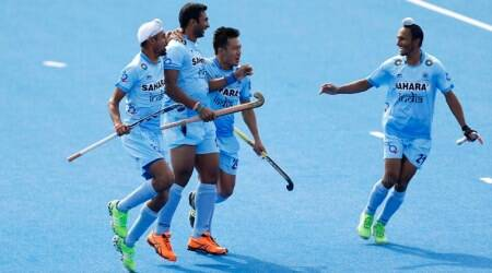 India first game ended in a 3-3 draw in  Champions Trophy hockey opener with Germany.(source: AP)