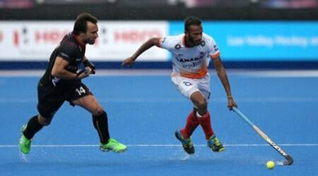 India succumb to 1-2 defeat against Belgium in Champions Trophy