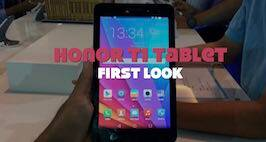 Honor T1 Tablet First Look
