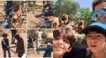Hrithik Roshan, sons Hrehaan, Hridhaan off to Africa for some adventure