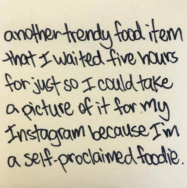 Here are 25 types of cliched pictures people post on social media