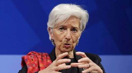 IMF chief Christine Lagarde optimistic on global growth, but warns against trade protectionism