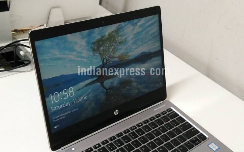 HP Elitebook Folio G1's edge-to-edge display means the viewing angles are extremely good