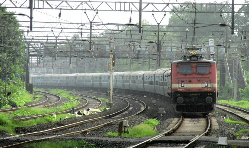 Indian Railway fan-photographers capture the drama of the trains