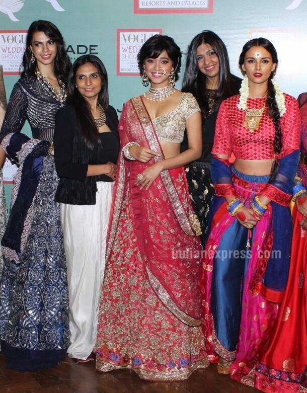 Sayani Gupta makes for a lovely bride at Vogue Wedding Show 2016