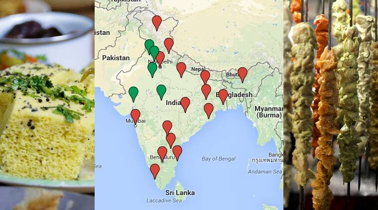 indian meat eating country, do people eat meat in india, vegetarian indian states, are indians vegetarians, Registrar General of India