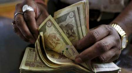 Rupee down 9 paise against dollar in early trade