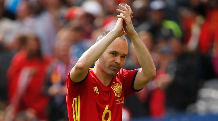 Iniesta showed some of his prowess in Spain's difficult first game at Euro 2016. (Source: Reuters)
