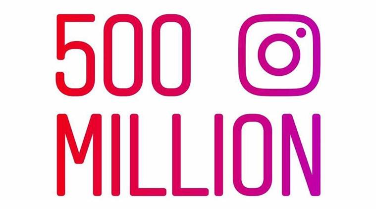 Instagram, owned by Facebook now has over 500 million active users (Source: David Marcus/Facebook)