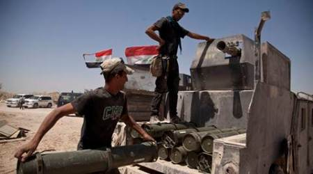Iraqi forces take control of central Fallujah from IS