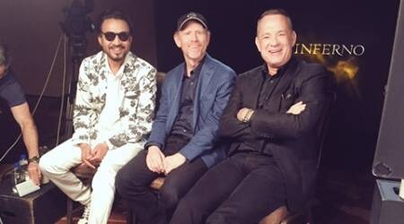 Irrfan Khan, Tom Hanks, Tom Hanks irrfan, Tom Hanks film, Inferno, Inferno cast, Inferno irrfan khan, Irrfan Khan FILM, Irrfan Khan NEWS, Irrfan Khan HOLLYWOOD, ENTERTAINMENT NEWS