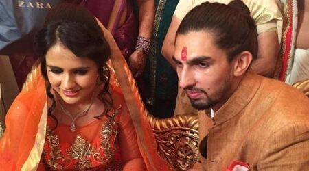 Ishant Sharma gets engaged to basketball player Pratima Singh, see pics