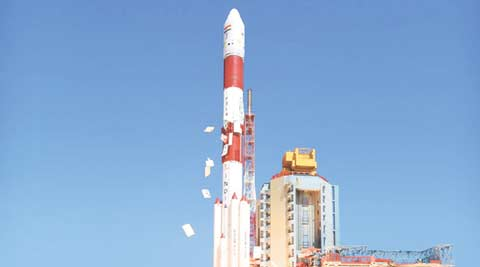 isro, isro pslv-c34, isro 20 satellite launch, isro launch, isro 20 satellites, isro cartosat-2, isro world record, isro 20 satellite launch, isro launch, technology, technology news