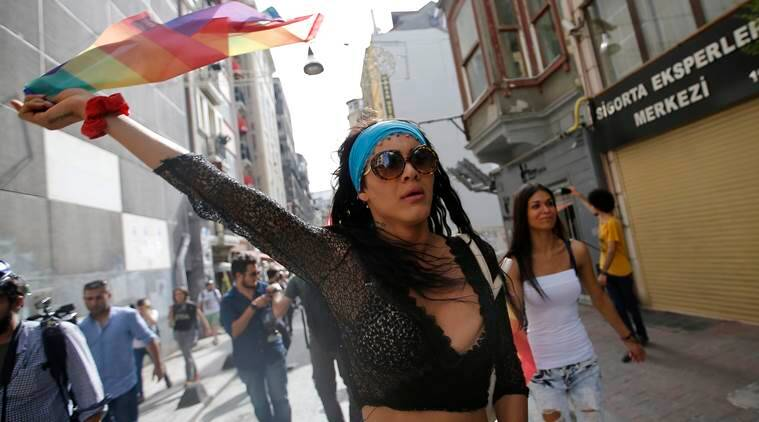 lgbt parade istanbul, turkey lgbt parade, lgbt protest, orlando shooting, turkey news, world news