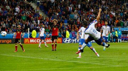Euro 2016: Emanuele Giaccherini, Graziano Pelle strike to give Italy 2-0 win over Belgium