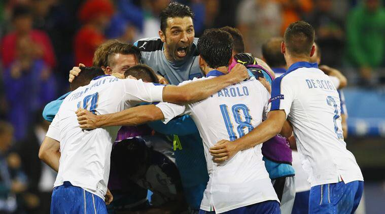 Italy were at their calculating, counterattacking best as they defeated Belgium to emerge 2-0 victors. (Source: Reuters)
