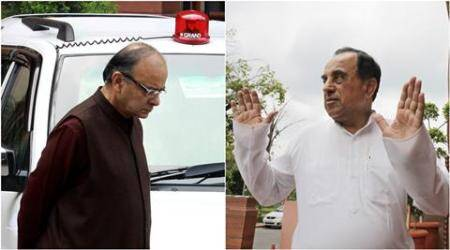 Yet another Subramanian Swamy swipe at Jaitley, BJP headache gets worse
