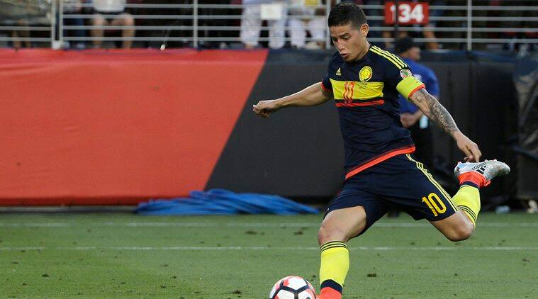 James Rodriguez, James Rodriguez Colombia, James Rodriguez Colombia captain, Copa America, James Rodriguez Colombia captain, sports news, sports, football news, Football