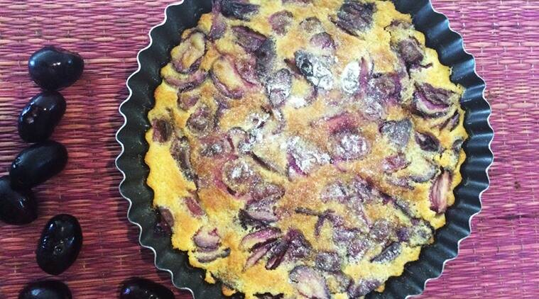 recipes, desserts, jamun, clafoutis