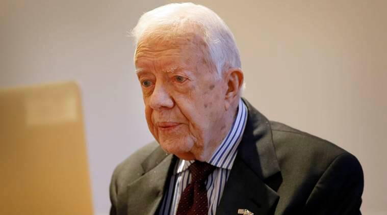 Jimmy Carter', former US president, Jimmy Carter', Jimmy carter world turning point, a call to action, former President Carter, Carter Center Atlanta, Atlanta, Jimmy Carter Atlanta, United nation, UN, latest news, latest world news
