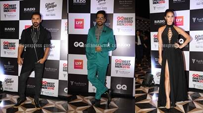 GQ india, GQ best dressed men 2016, John Abraham, Ayushmann Khurrana, Imran Khan, Lauren Gottlieb, Celina Jaitley, Evelyn Sharma, Karan Tacker, GQ india event