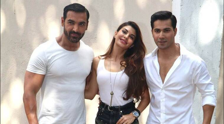 Jacqueline Fernandez, John Abraham and Varun Dhawan have shot with a real python for a song for the upcoming film Dishoom.