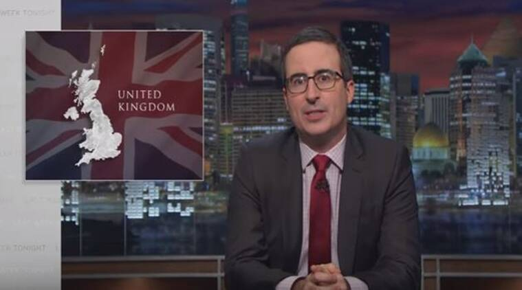 Last Week Tonight with John Oliver is about how furious he is at Brexit