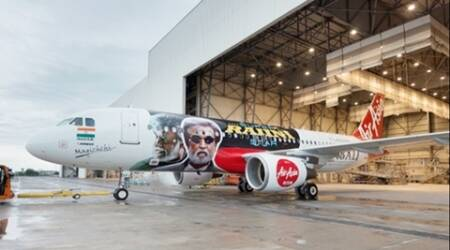 Kabali special plane all set to take off with Rajinikanth's film, see pics