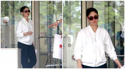 Kareena visits husband Saif Ali Khan at the hospital after his thumb surgery