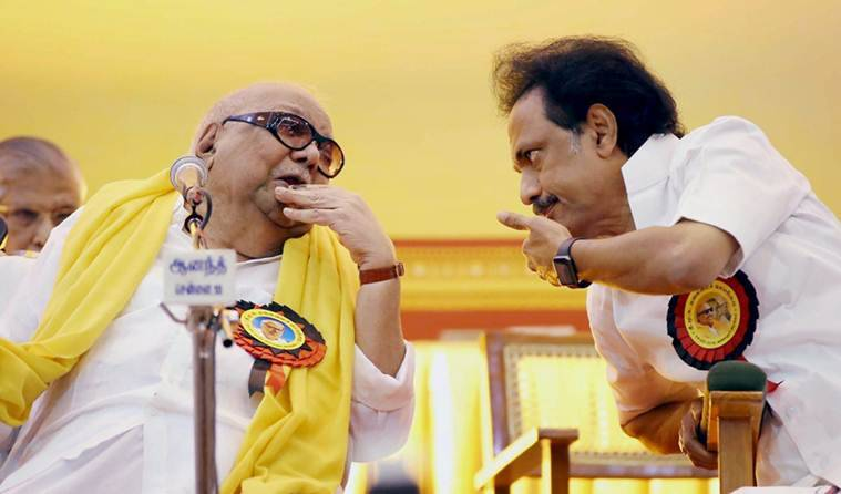 Karunanidhi, M. Karunanidhi, Karunanidhi news, M. Karunanidhi news, DMK, DMK news, Karunanidhi birthday, Karunanidhi age, Chennai politics news, Chennai news, India news, Latest news