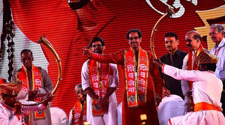Shiv Sena, Bal Thackeray, Udhav Thakeray,  50 years of shiv sena, shiv sena completes 50 years, Shiv Sena history, Shiv Sena in Maharashtra, Bombay, Bombay shiv sena, Shivaji, Shiv sena reginalism, shiv sena nationalism, shiv sena hindutva, shiv sena hindu nationalism, Shiv Sena and BJP, BMC elections, golden jubilee of Shiv Sena