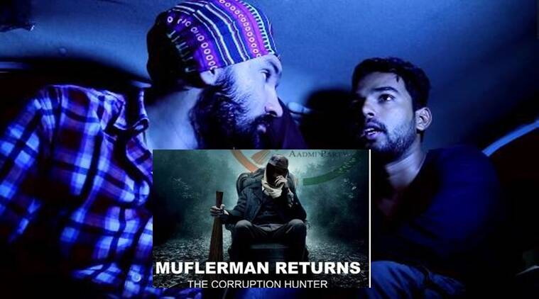 Can you spot the Mufflerman in the video?