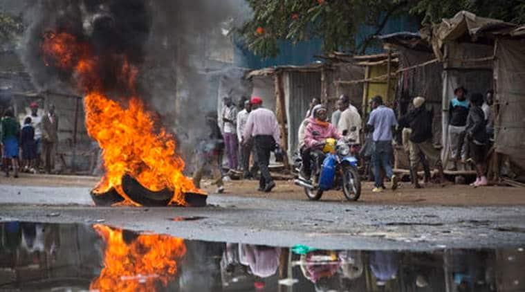 kenya, kenyan police, kenyan police open fire, anti government rally, cord alliance, cord alliance kenya, kisumu, kisumu violence, world news