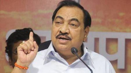 Eknath Khadse, Eknath Khadse resign, Eknath Khadse dawood, Eknath Khadse land deal, Eknath Khadse pune land deal, bjp Eknath Khadse, mumbai news, india news