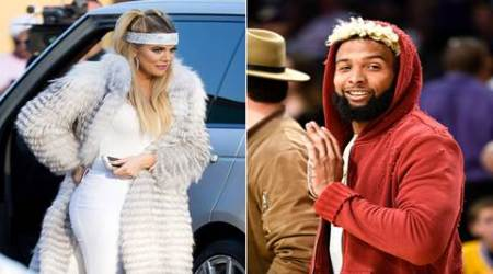 Khloe Kardashian denies dating NFL player Odell Beckham