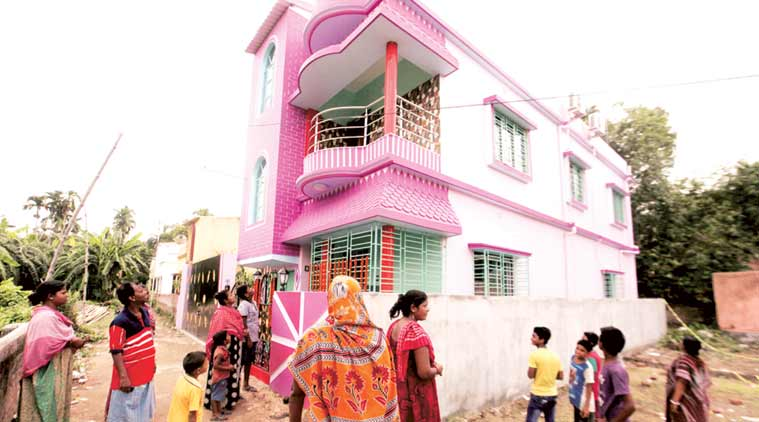 Rao was celebrating this new house at Shivtala in Rajarhat as well as his marriage anniversary. (Express Photo by Subham Dutta)